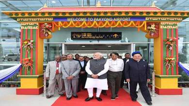 Photo of PM Modi inaugurates Pakyong Airport in Sikkim