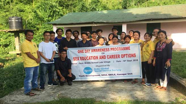 Itanagar: IGSSS organises awareness program on sex education