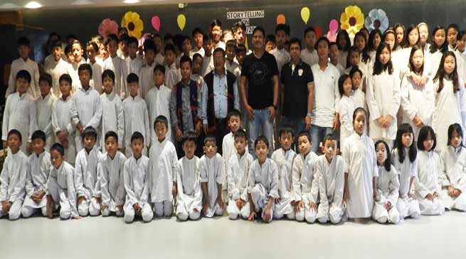 Itanagar: HIM International School organises Story Telling Session