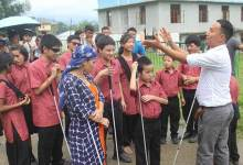 Photo of Itanagar: workshop on echolocation for visually impaired persons concludes