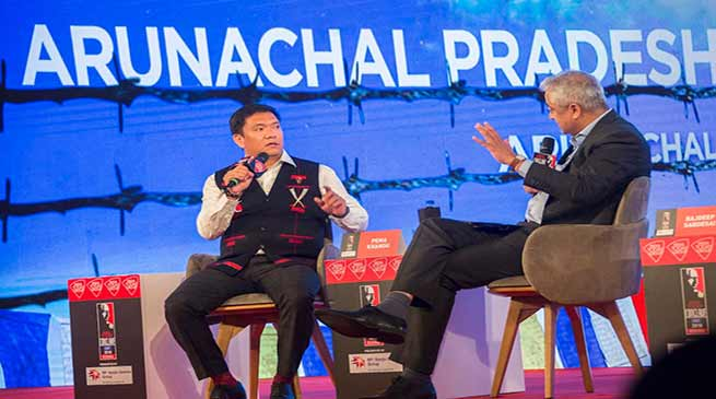 Delhi may be far from Arunachal but not from its heart- Pema Khandu