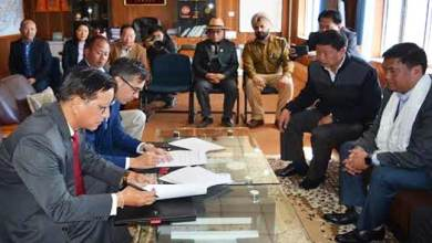 Photo of British Council and Arunachal Pradesh sign MoU on educational and cultural collaboration