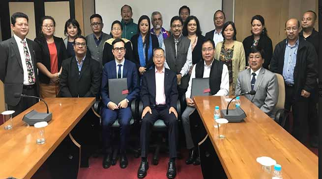 Arunachal: British Council and NEC sign MoU