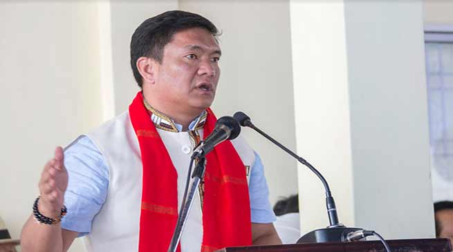 Arunachal : CoSAAP strike is illegal, anti-development- Pema Khandu