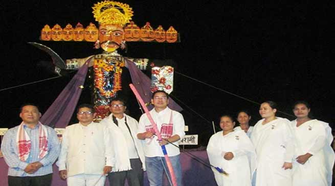 Arunachal: Durga Puja and Dussehra observed