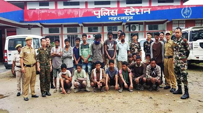 Arunachal: Capital police arrested 26 ILP violators