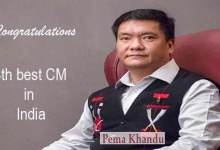 Photo of Arunachal CM Pema Khandu is 4th best among 23 CM