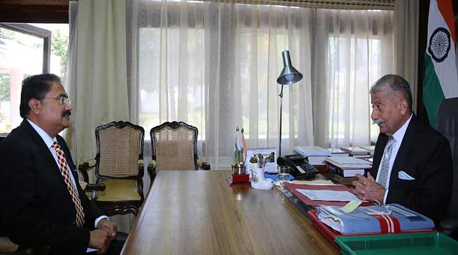 Arunachal: RGU VC calls on the Governor