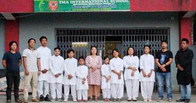 TMA International School to participate regional meet on National group song and patriotic songs competition.