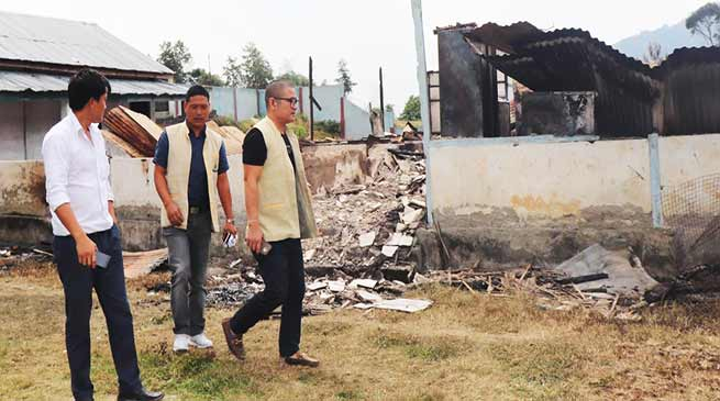 Talo HSS fire incident: ANSU demands magisterial enquiry