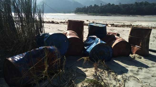 Arunachal: Chinese materials recovered from Siang river, locals surprise