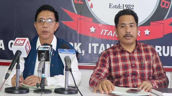 Itanagar: CoSAAP announces pen & tools down strike from October 11