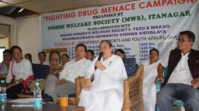 Arunachal: Fighting Drug Menace Campaign, in Lohit & Anjaw