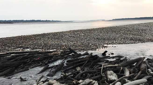 Landslide in China: Brahamputra flow blocked, Siang drying