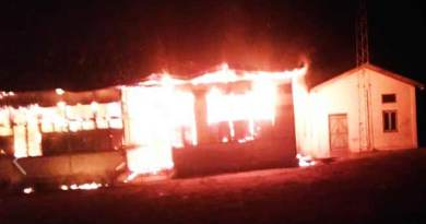 Arunachal: devastating fire engulfed Talo Government Higher Secondary school