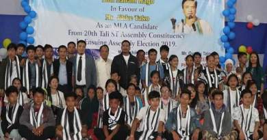 Arunachal: Let us move towards Tali for development-Jikke Tako