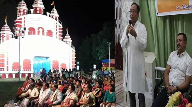 Itanagar: Not to discriminate any other religion- Techi Kaso