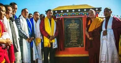 Arunachal: Khandu attends consecration of '108 Mane' at Mandala