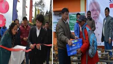 Photo of Arunachal: Jambey Tashi inaugurates 13th round of 'Sarkar Aaapke dwar'