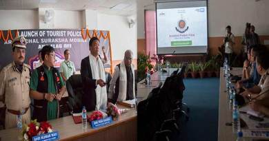 CM Khandu launches the 'Arunachal Tourist Police' and 'Arunachal Suraksha App'