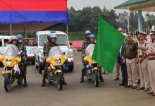 Photo of Itanagar: DGP flagged off patrolling vehicle for capital police