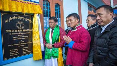 Arunachal CM inaugurates new MMT Building at Dirang