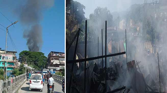 Arunachal: 16 houses gutted in Naharalgun Fire