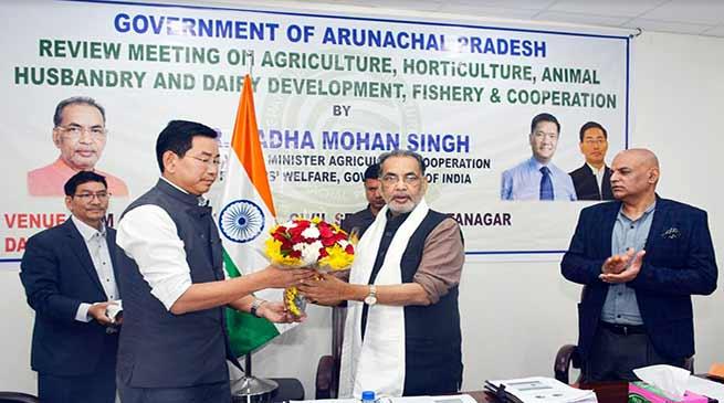 Mithun husbandry will be promoted in Arunachal- Radha Mohan Singh