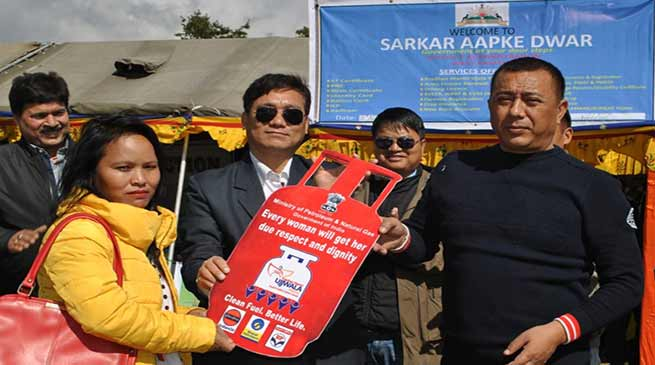 Arunachal: 'Sarkar Aapke Dwar' reaches Sangey in West Kameng