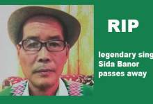 Photo of Arunachal: legendary singer Sida Banor passes away