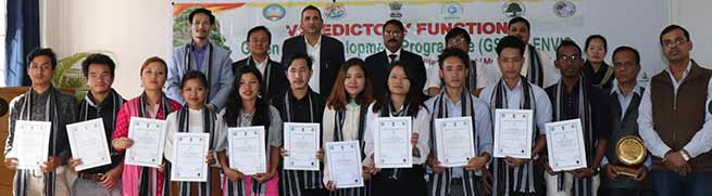 Arunachal: Training on Skill Development in Medicinal Plants concludes