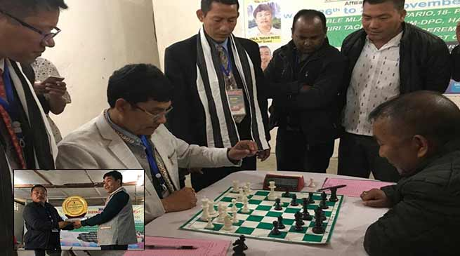 Arunachal: Pario inaugurates 2nd district label chess tournament of Kara Daadi dist