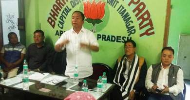 Itanagar: unity of all leaders will give us strength- Techi Kaso
