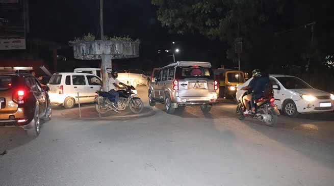 Itanagar: VIP vehicles violating traffic rules