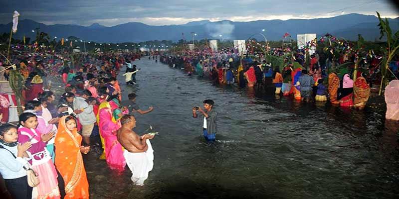 Arunachal: Chhat Puja celebrated in TEZU