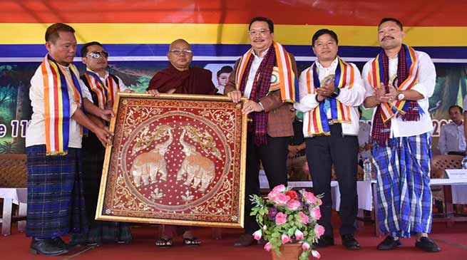 Arunachal: Mein urged the people to preserve the rich cultural heritage