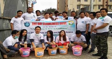 Itanagar: NPYF organises Cleaning Drive in TRIHMS campus