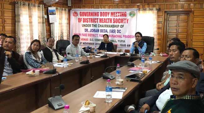 Arunachal: district hospital at Doimukh to be functionalise immediately- DC Papum Pare