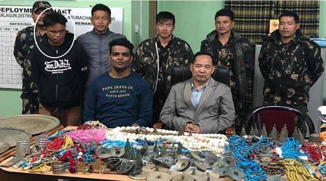 Arunachal: Capital police arrested 'Jewel thief' with ornament worth of 90 lakhs