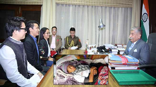 APPSCEE protest: qualified aspirants meet Governor, Tater Gao called off hunger strike