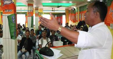 Itanagar: Work for the party so that we can win the 2019 election- Techi Kaso