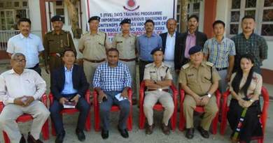 Arunachal: Training programme for IOs on NDPS, FSL and evidence collection