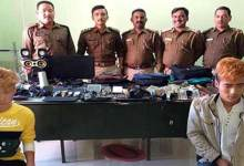 Photo of Arunachal: Itanagar police arrested two persons, recovered huge stolen items