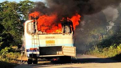Photo of Arunachal: APST bus catches fire allegedly due to short circuit, no casualties reported