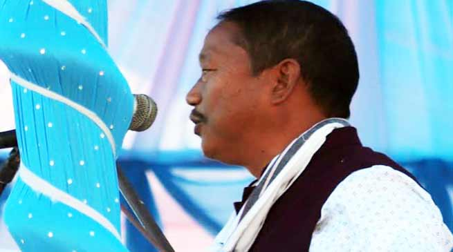 Itanagar:  Connectivity is the key for all round development-Bamang Felix
