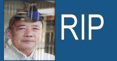 Arunachal Pradesh Legislative Assembly Jt. Secretary Bengia Chapo passes away