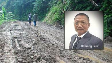 Photo of Arunachal: 5025 Km roads projects worth of 3837cr under PMGSY cleared by Centre- Bamang Felix