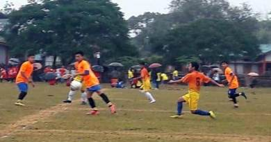 Hangpan Dada Memorial Trophy: East Siang