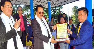 Itanagar: No dearth of sports talents in Arunachal- Chowna Mein