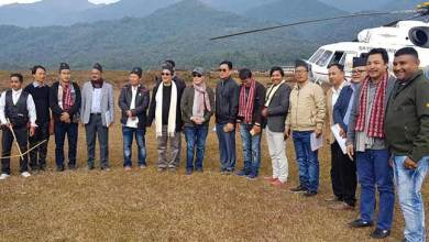 Photo of Arunachal: JHPC team visits Changlang, discussed PRC issue